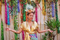 """1,045 curtidas, 6 comentários - Carla Lemos (@modices) no Instagram: """"vamos pra avenida desfilar a vida, carnavalizar 🌟🌈🎉 e lá no blog tá cheio de inspiração fácil e…"""""""