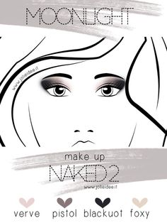 Review Urban Decay Naked 2 and Smokey Eyes Tutorial #makeup #tutorial #naked2 #urbandecay #smokeyeyes
