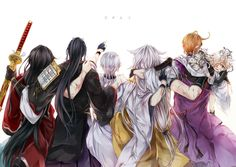 DeviantArt is the world's largest online social community for artists and art enthusiasts, allowing people to connect through the creation and sharing of art. Touken Ranbu, Nikkari Aoe, Sword Dance, Japanese Games, Manga Illustration, Game Character, Asian Art, All Art, Anime Guys