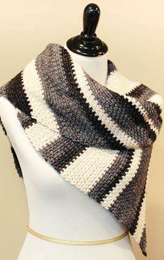 Ombre Shawl Crochet Pattern