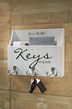 Rivièra Hausschlüssel bitte an der Wand organisieren - Riviera Maison ♥ -