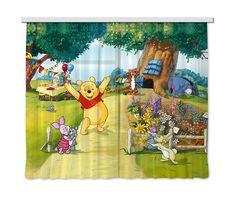 Rideaux de voilage - Le jardin de Winnie l'ourson Disney Disney