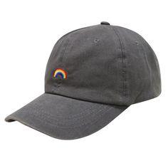 City Hunter C104 Rainbow Stickerei Baumwolle von CITYHUNTERHAT
