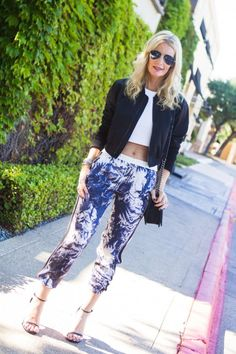 Printed Track Pants – Chic at Every Age