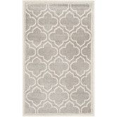 $159.95   Found it at Wayfair - Amherst Light Grey/Ivory Outdoor Area Rug