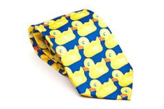 Ducky Tie as worn by Barney Stinson in How I Met Your Mother | Cool TV Props