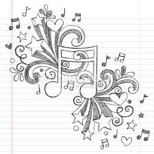 Photo about Music Note I Love Music Back to School Sketchy Notebook Doodles- Hand-Drawn Illustration Design Elements on Lined Sketchbook Paper Background. Illustration of melody, border, cute - 30419192 Notebook Doodles, Note Doodles, Doodle Art Journals, Music Drawings, Doodle Drawings, Music Sketch, Music Doodle, Doodle Designs, Art Music