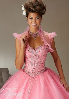Quinceanera Dress  Vizcaya Morilee 89062  Tulle Ballgown Beading  A closer view