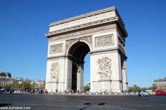 El Arco del Triunfo, un monumento de París que se merece la fama que tiene.