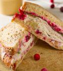 cranberry tea sandwiches