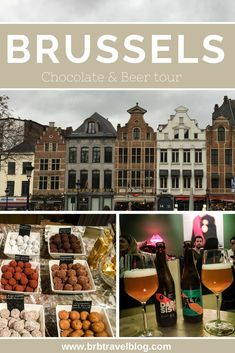 Brussels Chocolate and beer tour #brussels #Belgium #europe #chocolate #beer #tour