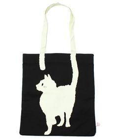 merry jenny(メリージェニー)のnew cat tailトートBAG(トートバッグ)|ブラック