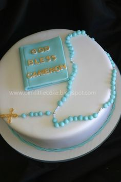 Pink Little Cake: First Communion Cake