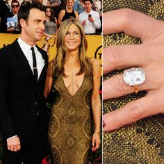Pin for Later: Ogle the Most Massive Celebrity Engagement Rings Jennifer Aniston