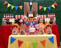 Circus Carnival Party Birthday Party Ideas | Photo 1 of 22 | Catch My Party