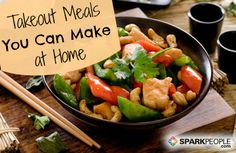 There are lots of ideas how to make cheap healthy meals. It may become even challenging and not difficult at all to cook healthy meals that are on a budget. Healthy Snacks, Healthy Eating, Healthy Recipes, Stir Fry Recipes, Cooking Recipes, Meal Recipes, Crockpot Recipes, Healthy Chicken Stir Fry, Cashew Chicken