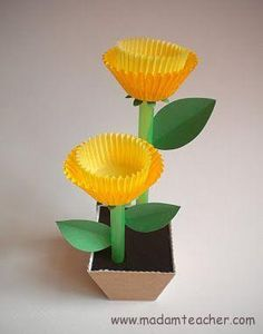 50 Awesome Spring Crafts for Kids Ideas - DIY and Crafts 2019 Kids Crafts, Spring Crafts For Kids, Preschool Crafts, Easter Crafts, Projects For Kids, Holiday Crafts, Art For Kids, Diy And Crafts, Arts And Crafts