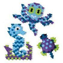 Puzzibits Ocean Depths Art Sets For Kids, Craft Kits For Kids, Activities For Kids, Crafts For Kids, Mosaics For Kids, Mosaic Kits, Mosaic Crafts, Mosaic Patterns, Ocean
