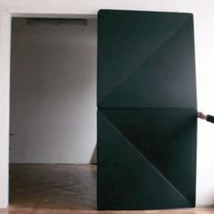 Door reinvented with folding mechanism  by Klemens Torggler