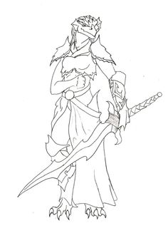 female dragonborn coloring pages - photo#5