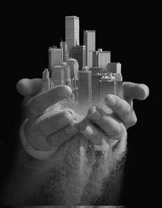 Thomas Barbèy, Urban Offering, art, photography, photo manipulation