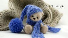 Teddy bear www.polandhandmade.pl #polandhandmade #filc #fartfilc