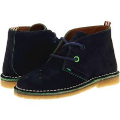 Paul Smith Junior Roma 2 (Little Kid) ($94) ❤ liked on Polyvore featuring baby, baby boy, kids, baby clothes, baby shoes, boots and midnight blue