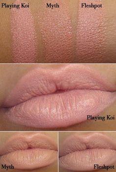mac honeylove vs peachstock lipstick - Google Search