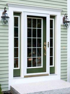 Popular colors to paint an entry door | Installing & Decorating Windows & Doors | DIY