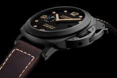 The new Officine Panerai PAM661 Carbotech Carbon Fiber Luminor Marina Watch