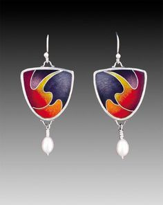 Sheila Beatty :: Fine Cloisonne Jewelry  Beautifullly executed jewelry, gorgeous and wearable