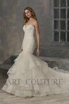 fff157b20ba 15 Best Wedding Dresses ART COUTURE images