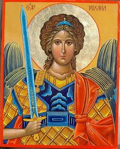 Michael is the leader of all the Archangels and is in charge of protection, courage, strength, truth and integrity. Michael protects us physically, emotionally and psychically. He also oversees the lightworker's life purpose. Christian Stories, Christian Art, Catholic Archangels, Angel Spirit, Angel Warrior, Saint Michel, Archangel Michael, Guardian Angels, Catholic Saints
