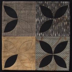 Mini quilt by Sue McLennan at The Loose Threads | Distressed Threads