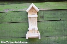 How to Build a Bottle Bird Feeder   HowToSpecialist - How to Build, Step by Step DIY Plans