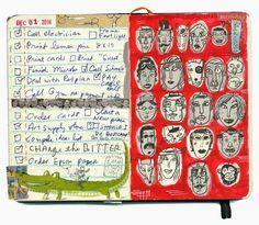 shoulda-woulda-coulda: I love your lovely countenance Sketch Journal, Artist Journal, Art Journal Pages, Moleskine Sketchbook, Artist Sketchbook, Gravure Illustration, Illustration Art, Art Illustrations, Visual Diary
