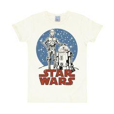 T-shirt Star Wars Almost White Slimfitmodell