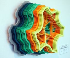 Perfectionist Paper Structures Resemble Viral Colonies   The Creators Project