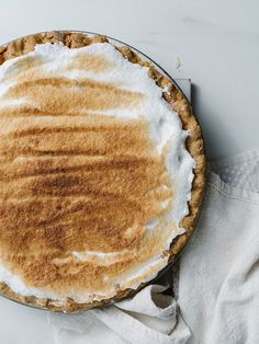Gluten-Free Buttermilk Pie Recipe — The Effortless Chic-