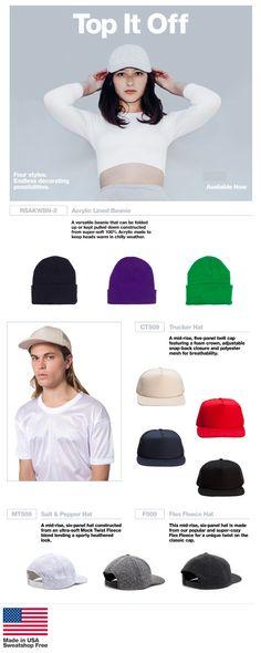 Top It Off: USA Made Headwear