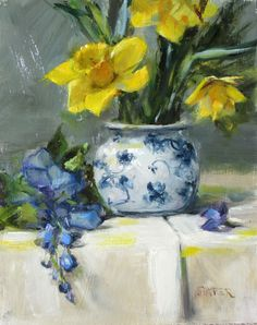 Daffodils, 10 x 8 SOLD. Please contact me for prints.