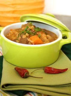 Cinco Quartos de Laranja: Borrego com garam masala e lentilhas vermelhas