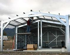 Good Questions: Steel Warehouse Kit for a Home?