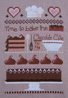I want to cross stitch this one...too cute!!
