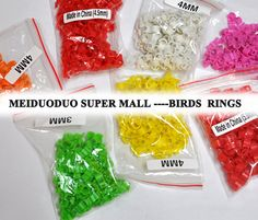 Cheap ring boy, Buy Quality ring setting directly from China ring alarm Suppliers: Wholesale/retail Inner Bird Dove Pigeon Parrot Leg Rings Small Birds Foot Rings Parrot Rings Dove Pigeon, Small Birds, Budgies, Parrot, Pet Products, Pigeon, Parrot Bird, Small Rings, Birds