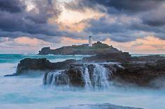 Godrevy #Lighthouse - St Ives, #Cornwall http://dennisharper.lnf.com/