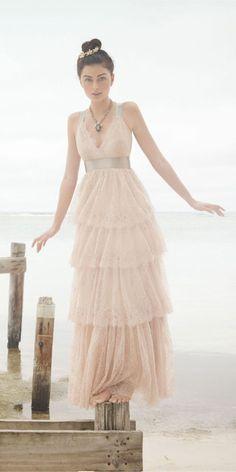 18 peach wedding dresses you must see bhldn photo