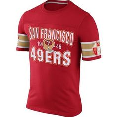 aa3f884ac87 Nike San Francisco 49ers Rewind Football T-Shirt