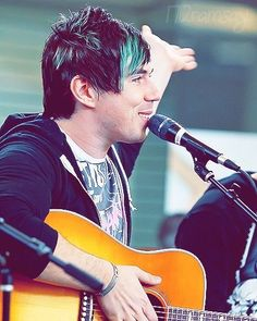 He can play any song on the spot just after listening to it. He sings like nobodies business and has gone through a lot, earning some serious respect. Marianna Trench, Marianas Trench Band, Josh Ramsay, Face The Music, Band Quotes, Going Insane, Pop Songs, Man Crush, 4 Life
