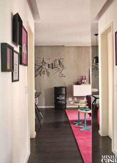 Moderna, estilosa, vibrante – e com muitas pitadas de doçura –, a decoração deste apê paulistano de 68 m² reflete a personalidade da moradora